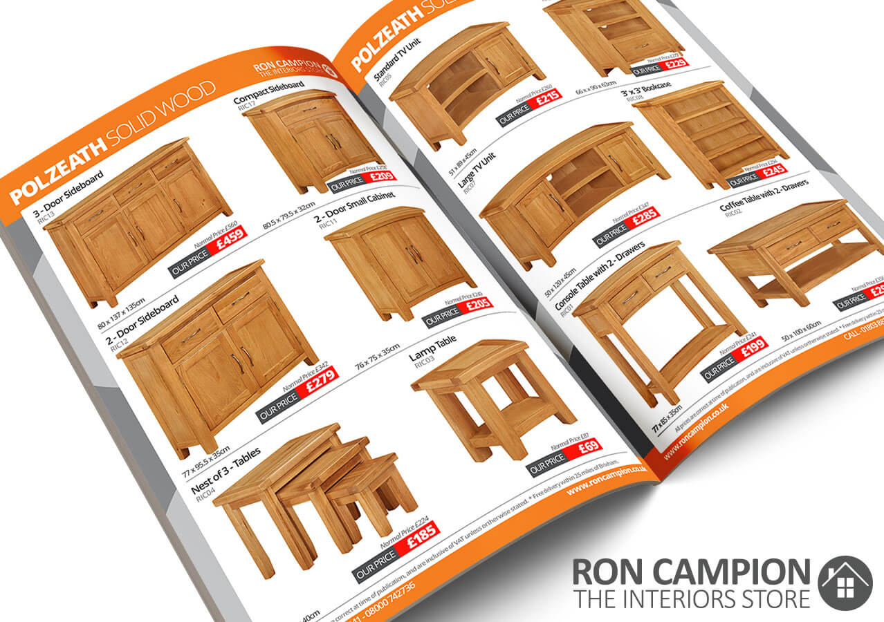 Ron Campion Furnishers Catalogue