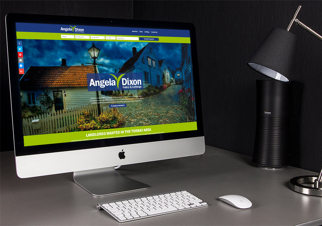 New website for Angela Dixon Sales & Lettings